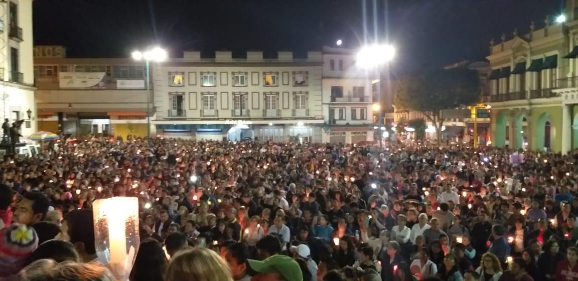 Resultado de imagen para procesion silencio xalapa