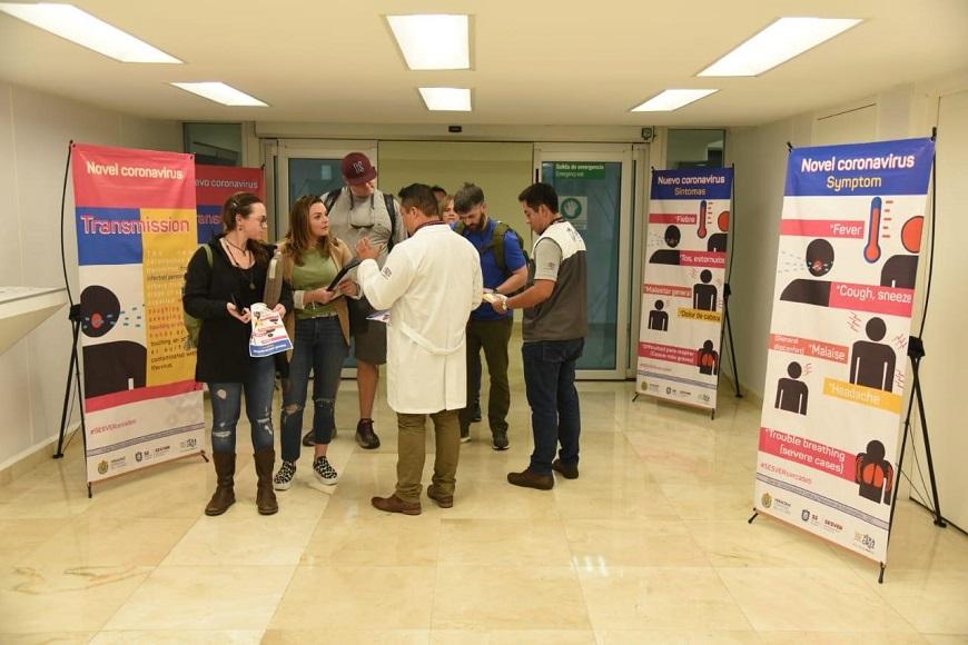 Llama salud de #Veracruz a viajeros a reportar síntomas asociados a Coronavirus | Billie Parker Noticias